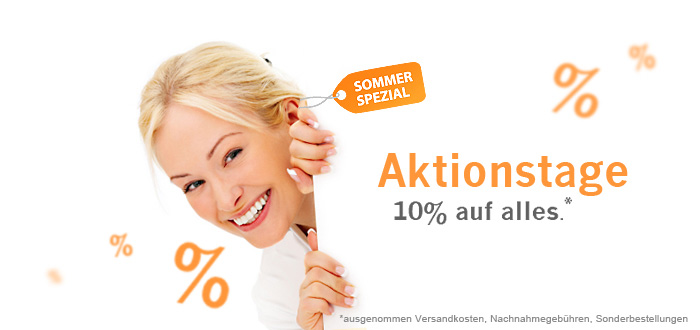 10% Sommer Spezial