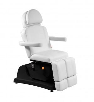 Fußpflegestuhl Queen Foot VII Comfort 5-motorig schwarzes Untergestell