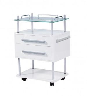 Beistelltisch Luxury 2 weiß