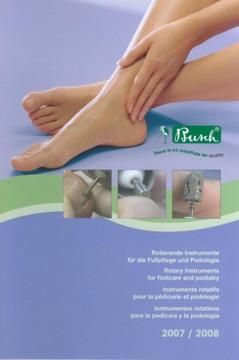 Busch Katalog Rotierende Instrumente für Fußpflege und Podologie