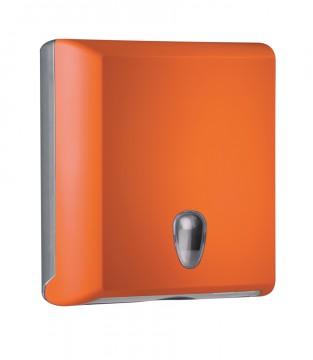 """Falthandtuchspender """"Edition"""" orange"""