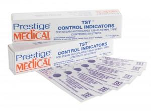Teststreifen (50 Stück) für den Autoklav Prestige Medical 2100 classic