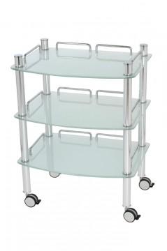Royal Beistelltisch III-1 Glas transparent