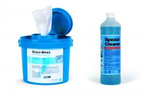 Hansa Spezial Cleaner ein Zusatzreiniger für Desinfektionsmittel inkl. Spendereimer
