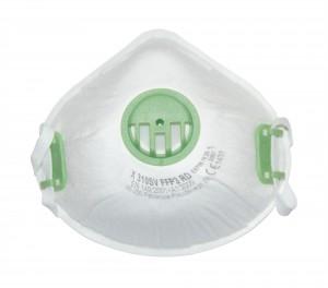 10x Atemschutzmaske Atemschutz Mundschutz Maske FFP3 mit Ventil