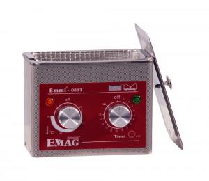 Emmi-08ST H Ultraschallreiniger aus Edelstahl mit Heizung